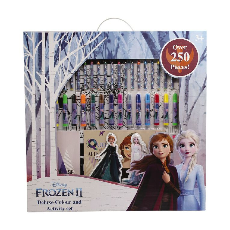 Frozen Deluxe Colour & Activity Set, , hi-res