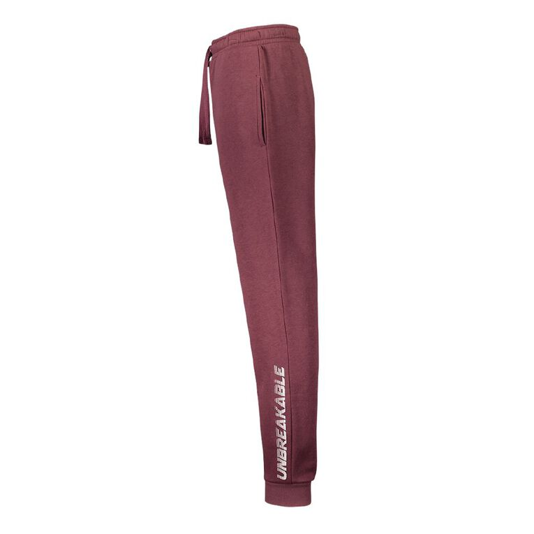 Young Original Boys' Print Leg Track Pants, Pink Dark, hi-res