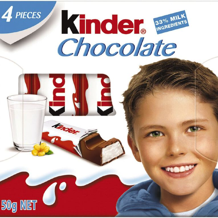 Kinder Chocolate T4 Littleones 50g, , hi-res