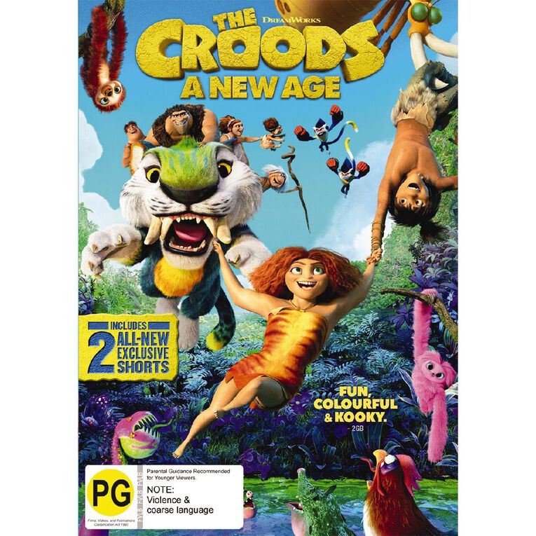 The Croods 2 DVD, , hi-res