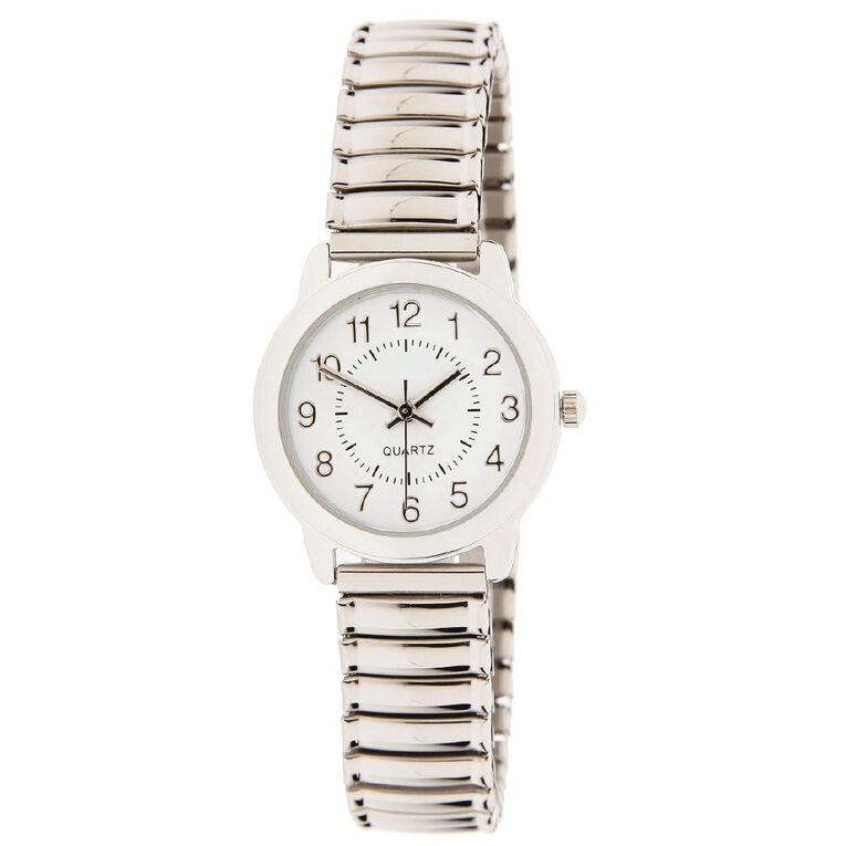 Eternity Women Classic Analogue Expander Steel Watch Silver, , hi-res image number null