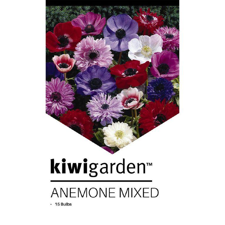 Kiwi Garden Anemone Mixed 15PK, , hi-res image number null