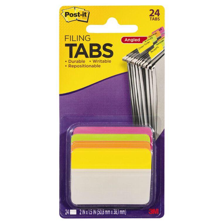 Post-It Filing Tabs 50.8mm x 38.1mm 686A-Ploy, , hi-res