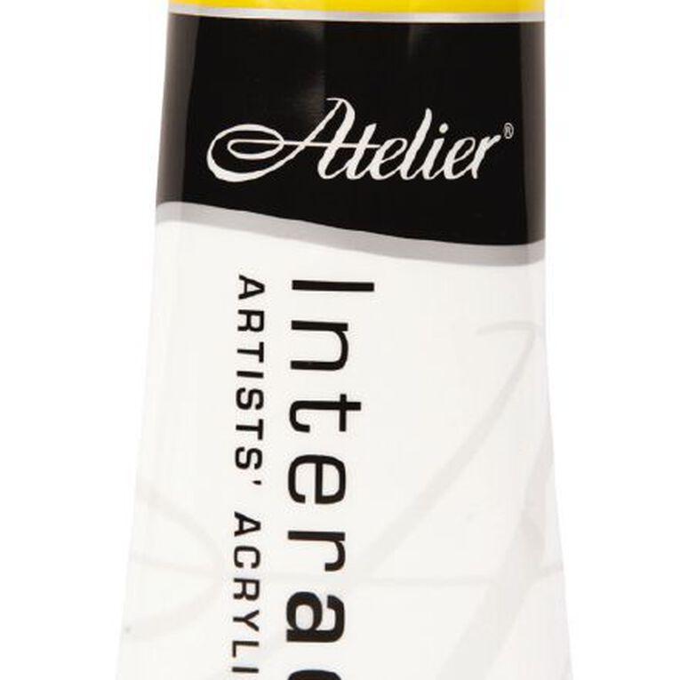 Atelier S4 Cadmium 80ml Medium Yellow Yellow, , hi-res