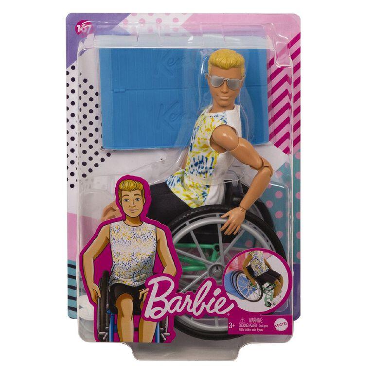 Barbie Ken Fashionista & Wheelchair Assorted, , hi-res