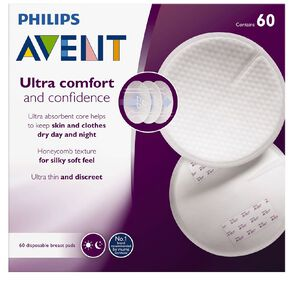 Philips AVENT Breast Pads 60pk
