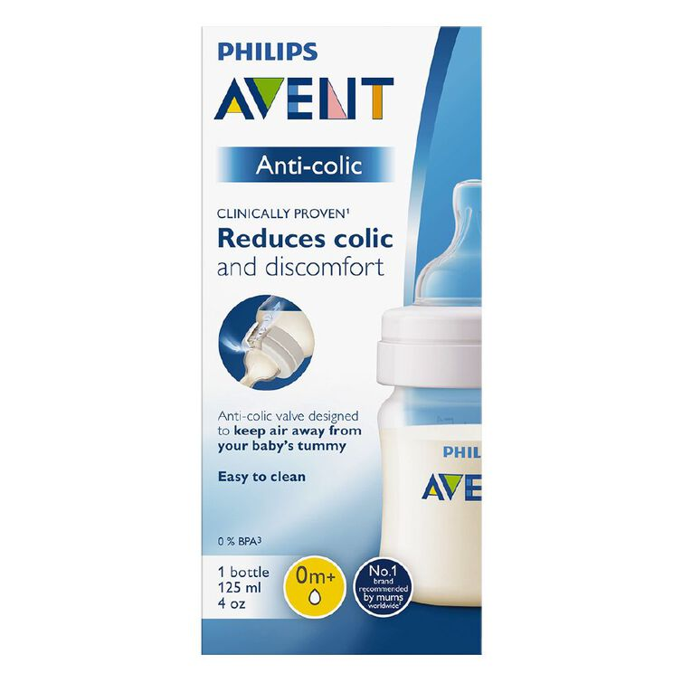 Philips AVENT Feeding Bottle Anti-colic 125ml (single), , hi-res