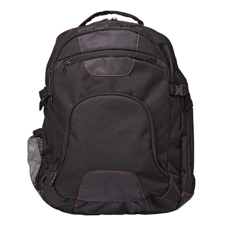 H&H University Backpack, Black, hi-res