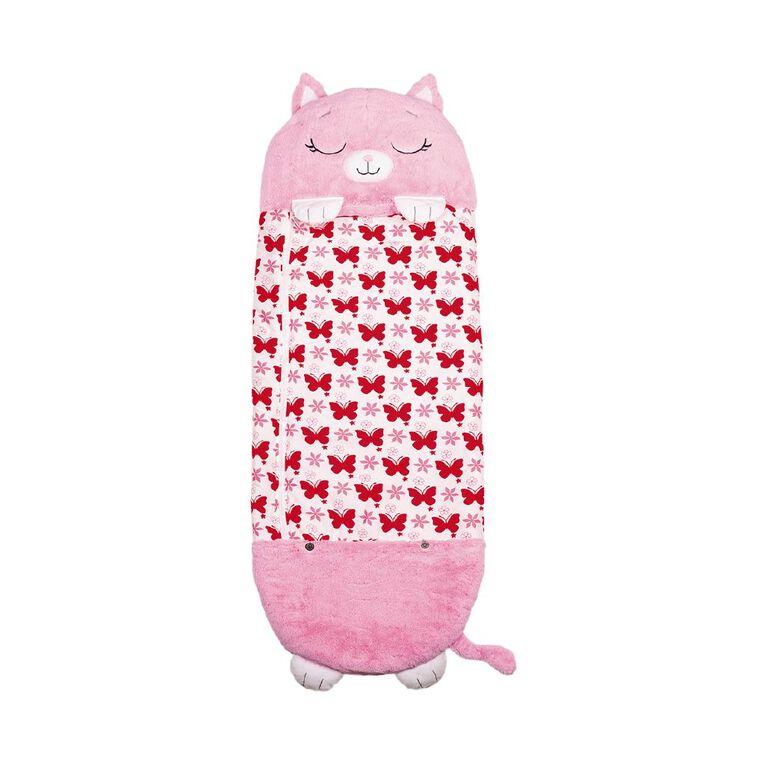 Happy Nappers Pink Cat Standard 137cm, , hi-res