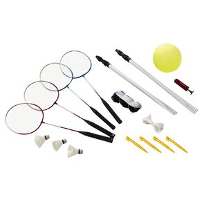 Active Intent Play Badminton & Volleyball Set