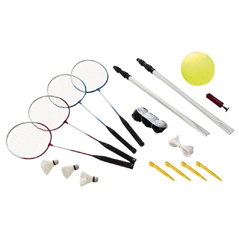 Active Intent Play Badminton & Volleyball Set, , hi-res