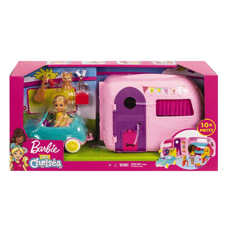 Barbie Club Chelsea Camper, , hi-res