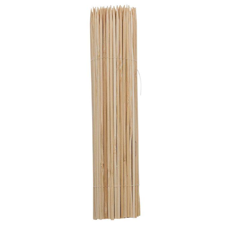 Living & Co Skewers Bamboo Brown 150 Pack, , hi-res