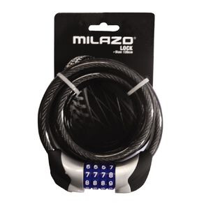 Milazo Bike Resettable Combination with Light & Lock