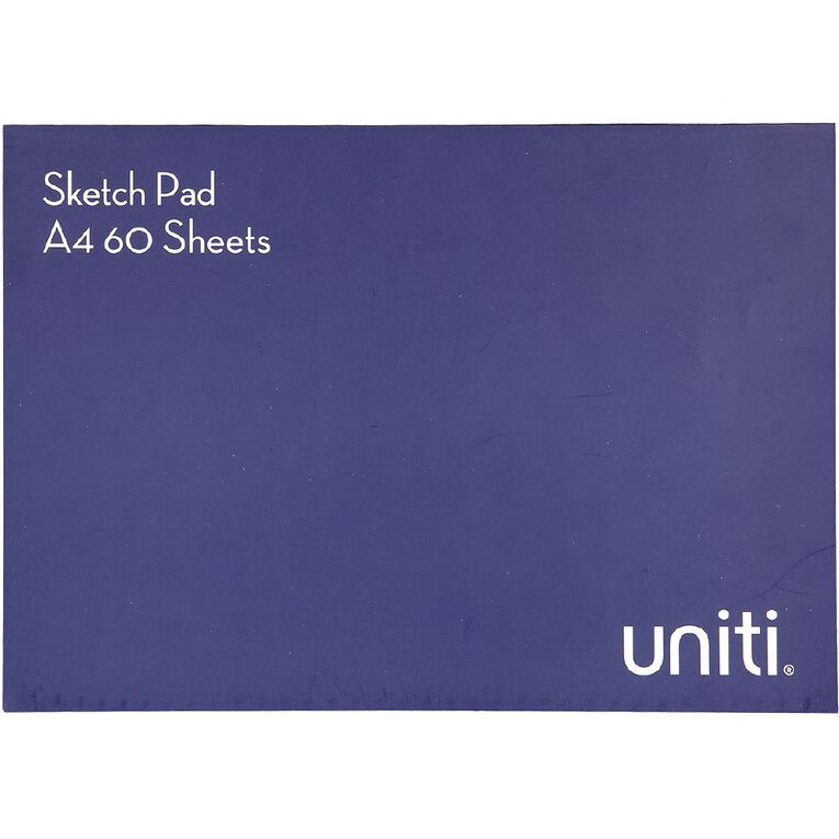 Uniti Sketch Pad 60 Sheets A4, , hi-res image number null