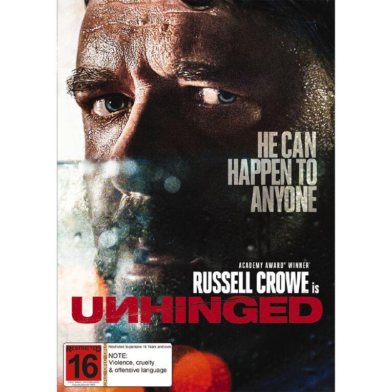 Unhinged (2020) DVD 1Disc, , hi-res