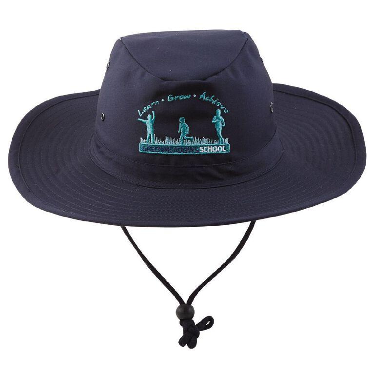 Schooltex Greenmeadows School Hat, Navy, hi-res