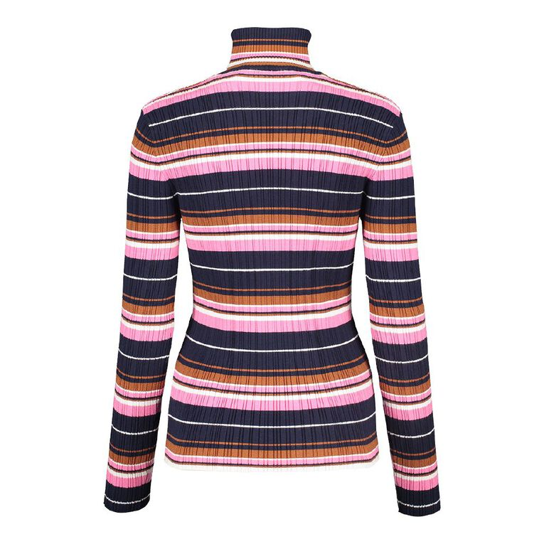 H&H Women's Rib Skivvy, Multi-Coloured, hi-res
