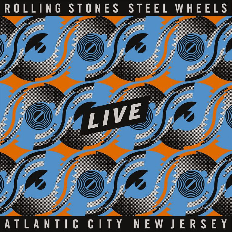Steel Wheels Live BR/2CD CD/DVD by The Rolling Stones 3Disc, , hi-res
