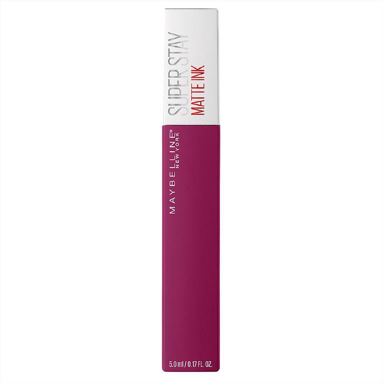 Maybelline SuperStay Matte Ink Liquid Lipstick Artist 120, , hi-res