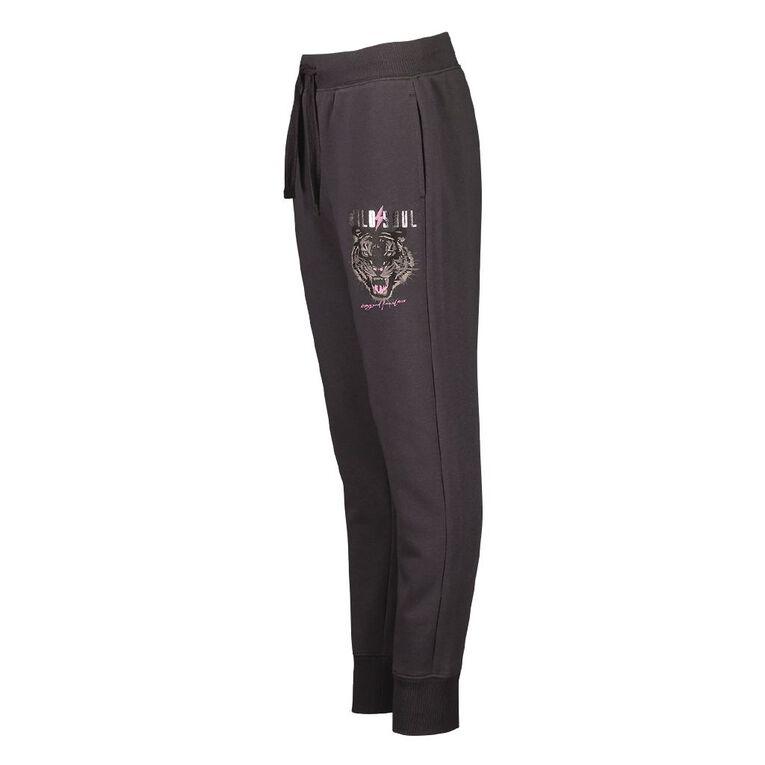 Young Original Printed Jogger Trackpants, Grey Dark, hi-res