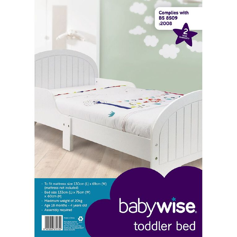 Babywise Toddler Bed, , hi-res