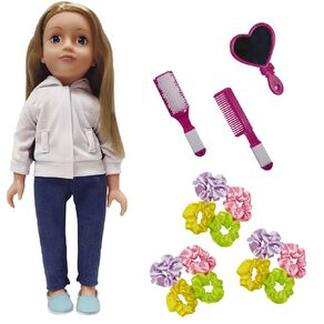 Our Girl Doll Eva with Hair Accessories