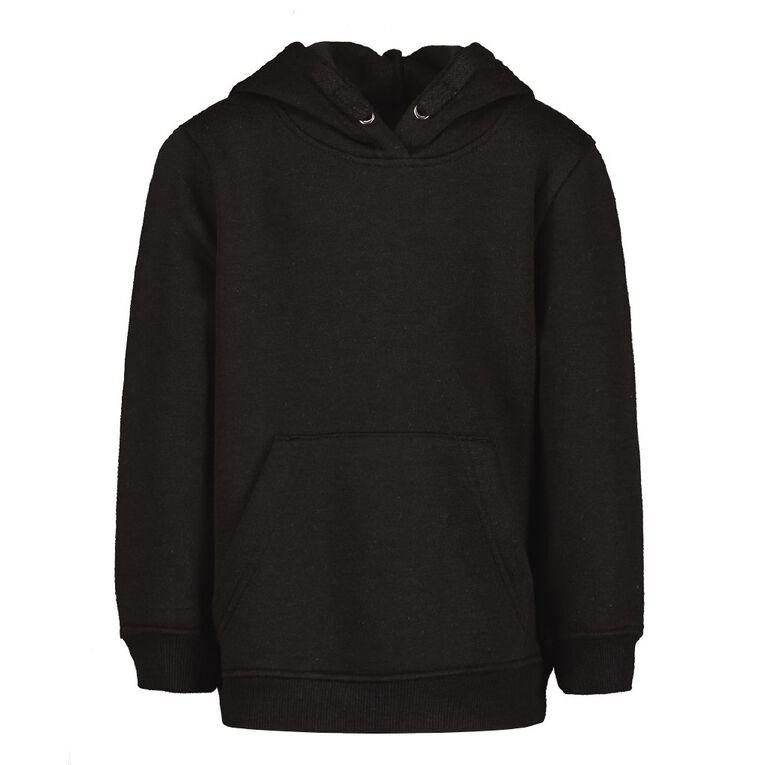 Young Original Boys' Plain Pullover Sweatshirt, Black, hi-res