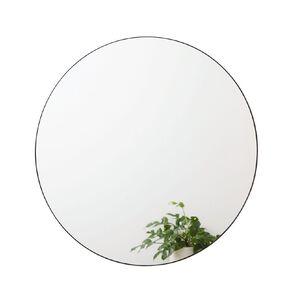 Living & Co Round Wall Mirror Black 80cm