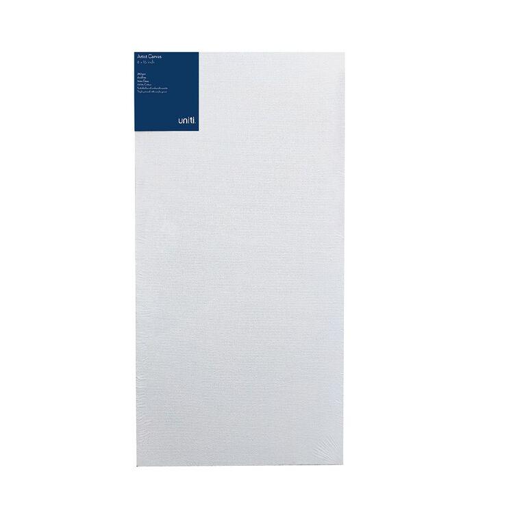 Uniti Blank Canvas 280gsm (8in x 16in) 20cm x 40cm, , hi-res