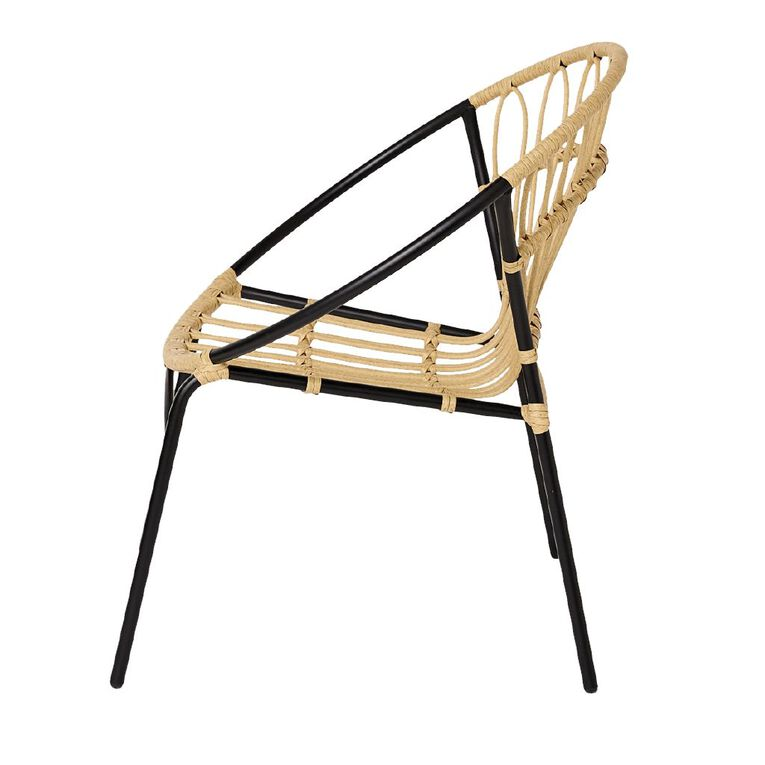 Living & Co Rattan Stacking Chair, , hi-res