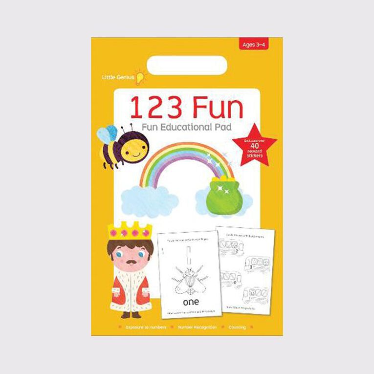 Little Genius Small Pad 123 Fun, , hi-res