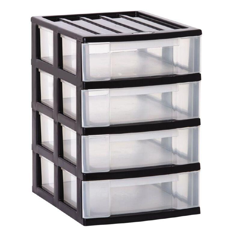 Taurus Storage Drawers Assorted 4 Tier, , hi-res
