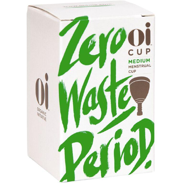 Oi Menstrual Cup Medium 1 Pack, , hi-res