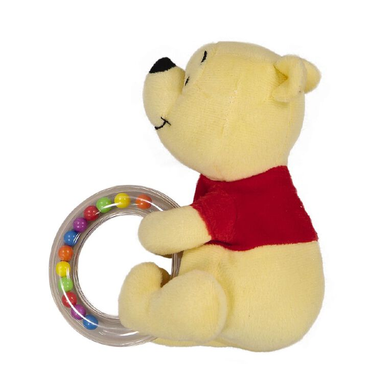 Winnie the Pooh Red Shirt Ring Rattle, , hi-res