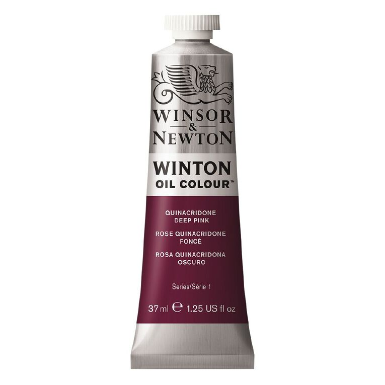 Winsor & Newton Winton Oil Quin Deep Pink 37ml, , hi-res