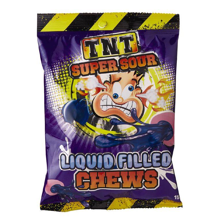 TNT Super Sour Liquid Filled Chews 150g, , hi-res