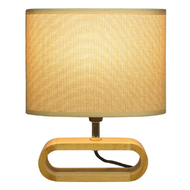 Living & Co Enzo Lamp Natural, , hi-res