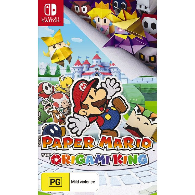 Nintendo Switch Paper Mario: The Origami King, , hi-res
