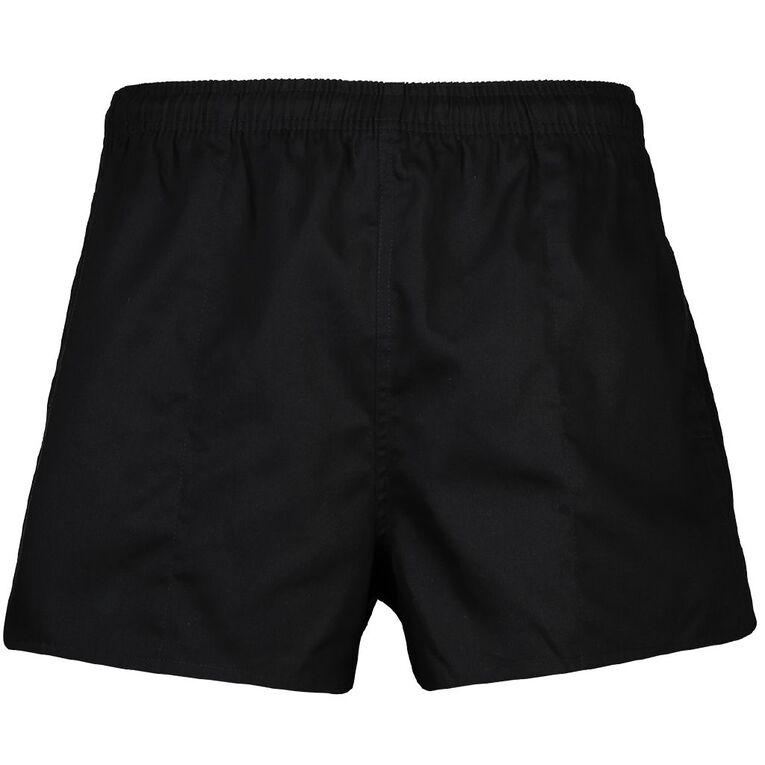 H&H Rugger Shorts, Black, hi-res image number null