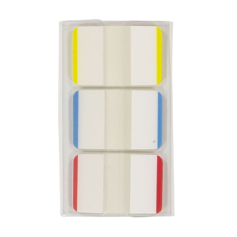 Impact Coloured Sticky Tabs 25mm x 38mm 22 Sheet 3 Pack, , hi-res