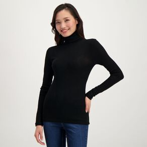 H&H Women's Merino Roll Neck