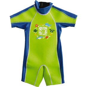 Body Glove Kids' Rash Suit Green Size 4