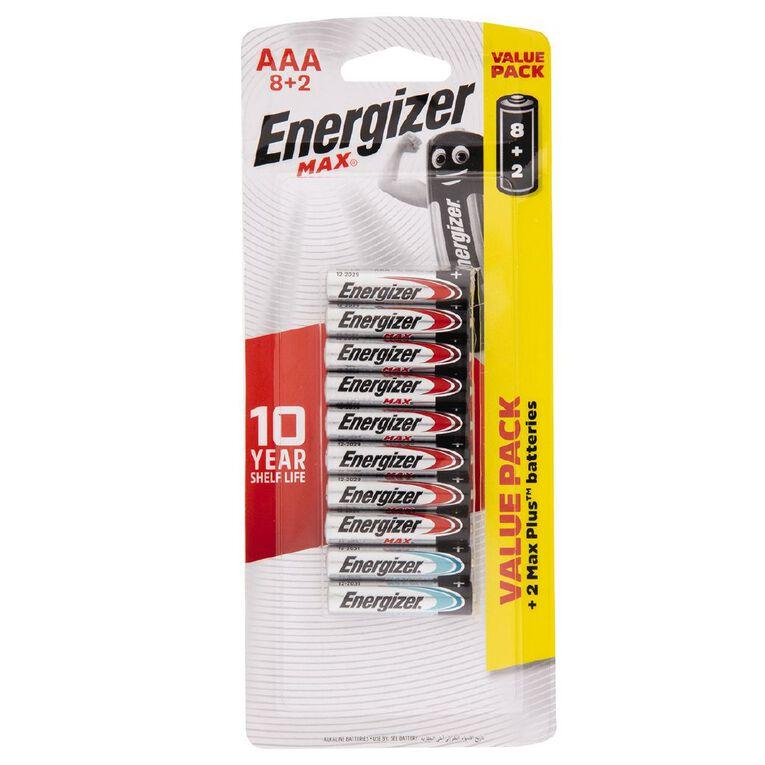 Energizer Max AAA 10 Pack, , hi-res