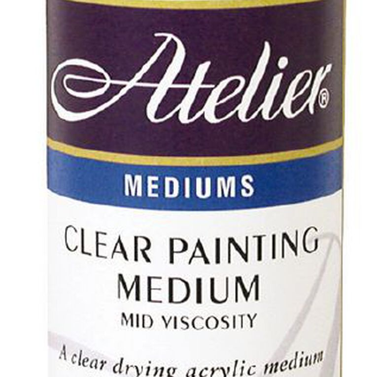 Atelier Painting Medium 250ml Clear, , hi-res