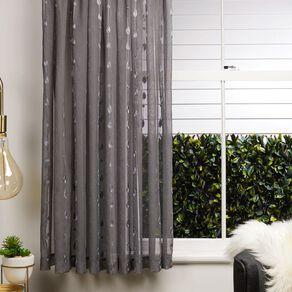 Living & Co Leaf Voile Grey