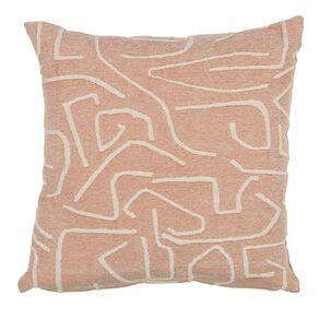 Living & Co Atelier Cushion Pink 50cm x 50cm