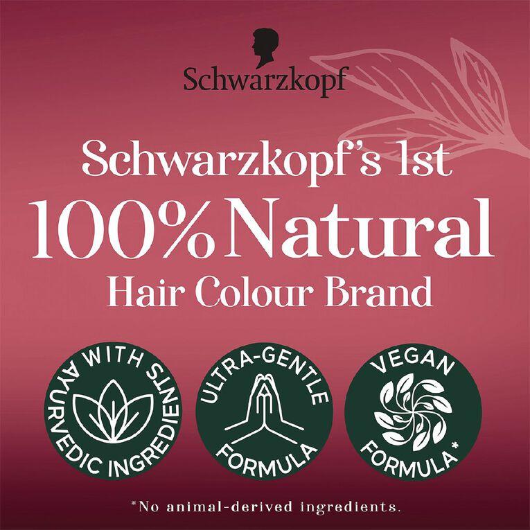 Schwarzkopf 100% Vegetale Russet Brown, , hi-res