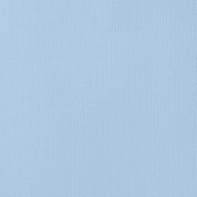 American Crafts Cardstock Textured Lagoon Blue 12in x 12in, , hi-res image number null