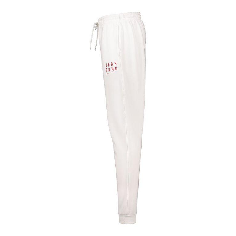 Garage Men's Fresh Trackpants, White, hi-res image number null
